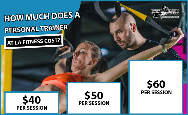 LA Fitness Personal Trainer Cost